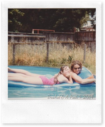 Me and Deany in the Doughboy Pool