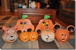 Outdoor Pumpkin Decor