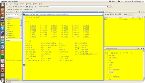 matlab Screenshot