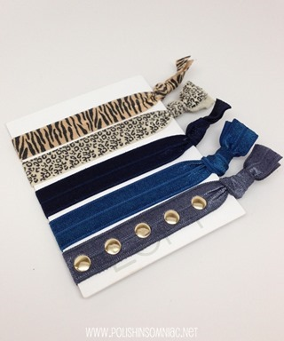 LOFT Hair Ties (my favorites from assorted sets)