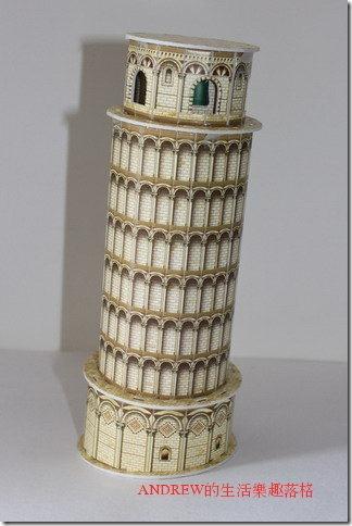 比薩斜塔 地標模型