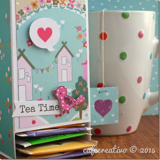 Tea Bag Dispenser tutorial - by cafecreativo for craft asylum