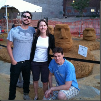 Sandcastles in Iowa City