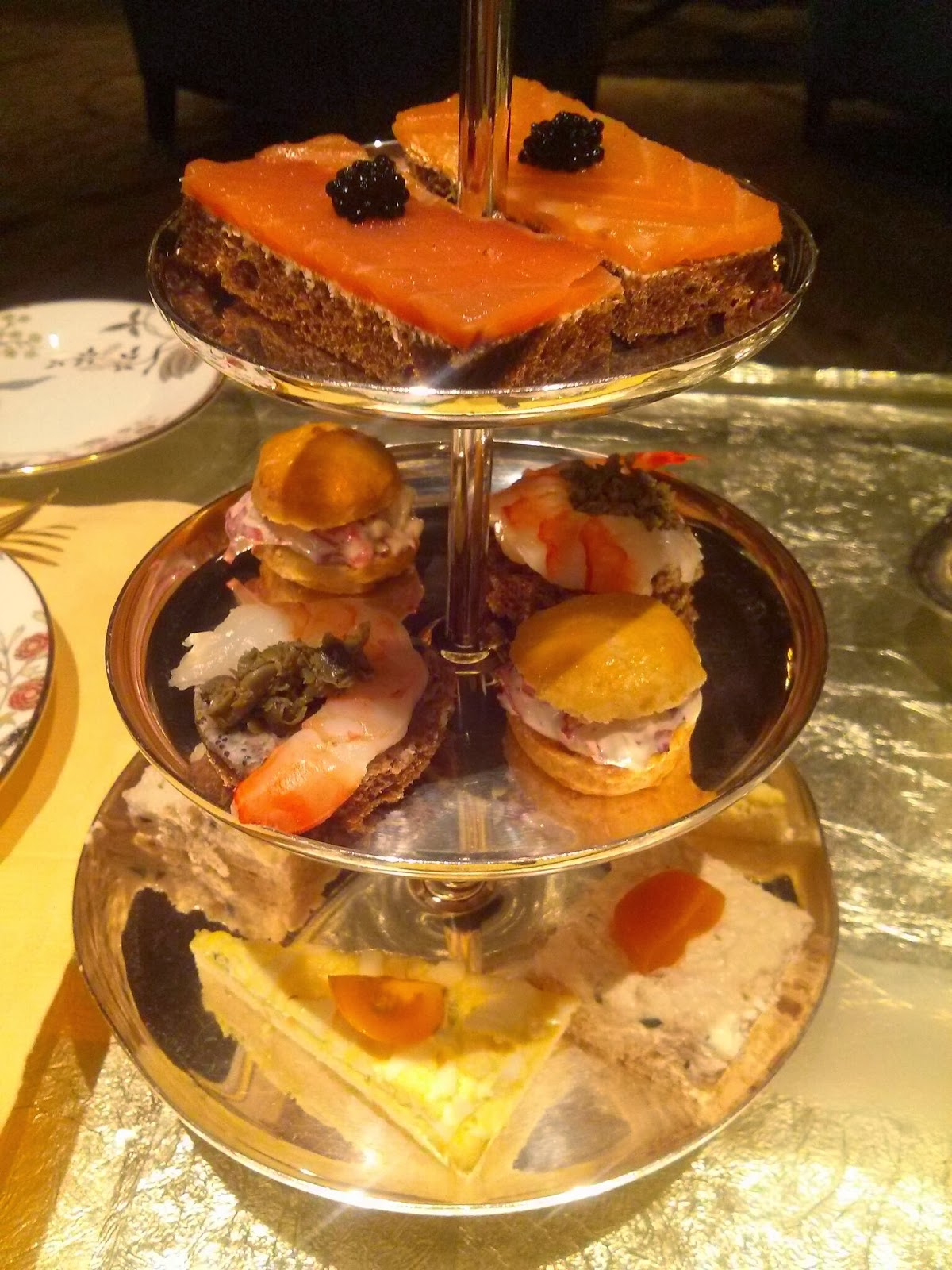Afternoon tea at the ritz new york