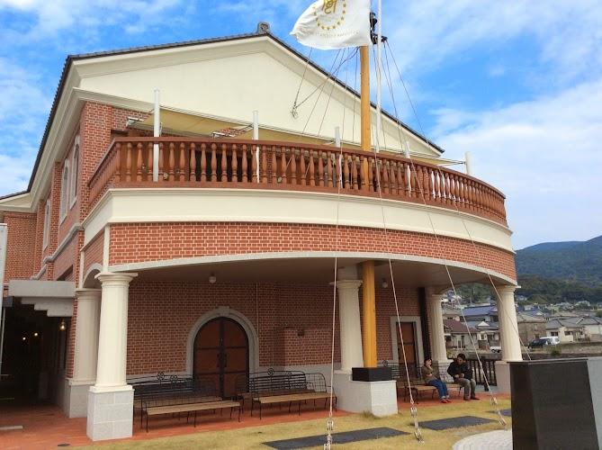 薩摩藩英国留学生記念館_背面