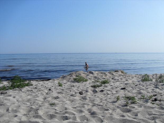 Emilie i vandet