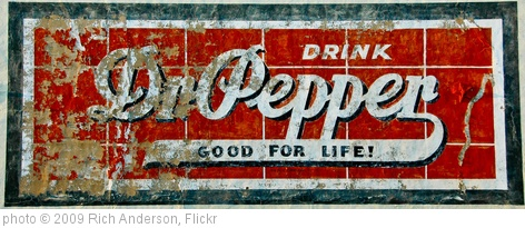 'Dr. Pepper Mural' photo (c) 2009, Rich Anderson - license: http://creativecommons.org/licenses/by-sa/2.0/