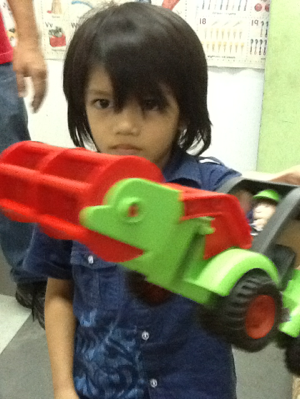 Toy truck gift