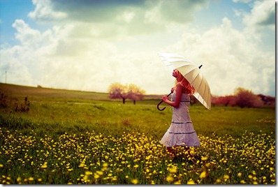 field,girl,pretty,umbrella,day,spring-f0f74ae4ad47cb913b8a787f62c6847b_h_large