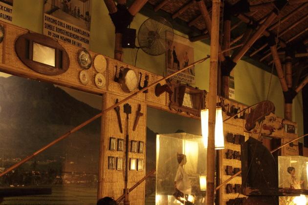 Inside the East Javanese Inggil Restaurant, Malang