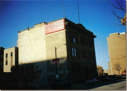 Milwaukee School of Engineering C-Building in Milwaukee, Wisconsin in November 2000