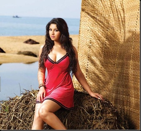 Richa Gangopadhyay CCL-Calendar-2012-Images-13