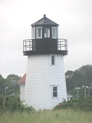 Cape Cod lighhouse lewis Bay closeup