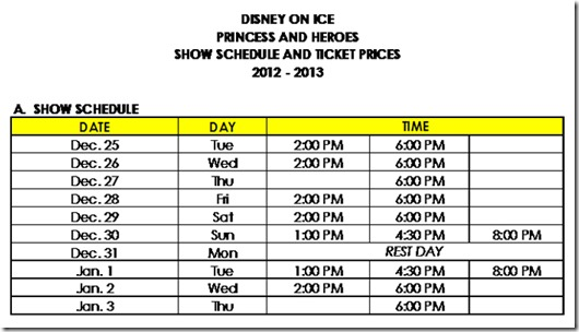 DOI 2012 Show Schedule_REVISED