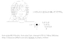 [AA]Kitaro & Medama-oyaji (GeGeGe no Kitaro)
