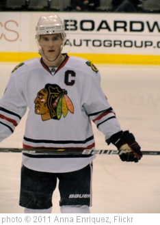 'Jonathan Toews' photo (c) 2011, Anna Enriquez - license: http://creativecommons.org/licenses/by/2.0/