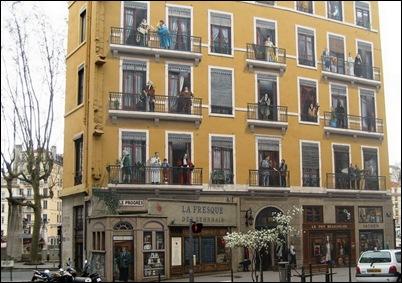 bijzonder gebouw in Lyon
