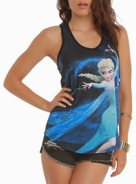 Disney Frozen Elsa Tank Top from Hot Topic