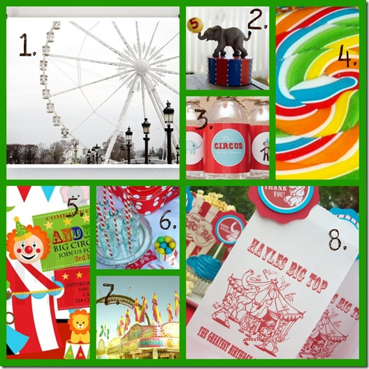 carnival collage