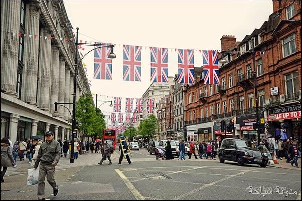 شوارع التسوق في لندن