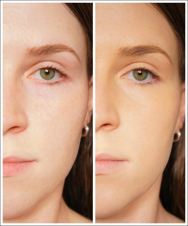 antes e depois bb cream
