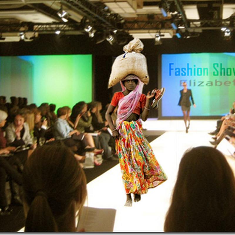 Bila pereka fesyen terkenal dah kehabisan idea !