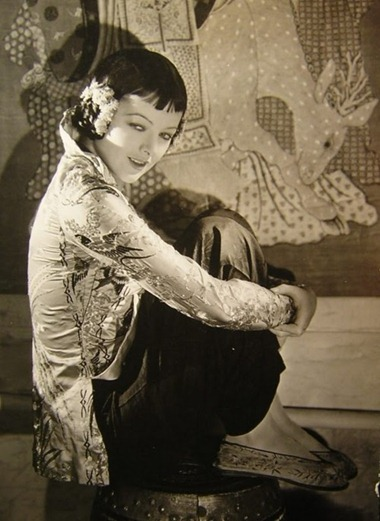 Myrna Loy in The Mask of Fu Manchu 1932