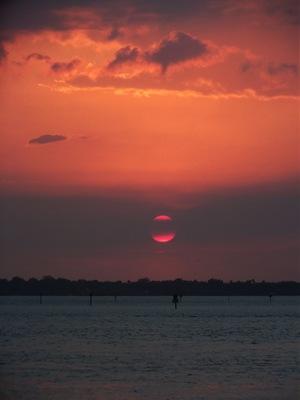 Monday beach and sunset 062B