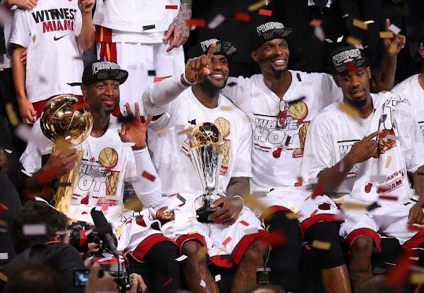 LeBron James amp Miami Heat Repeat as NBA Champions