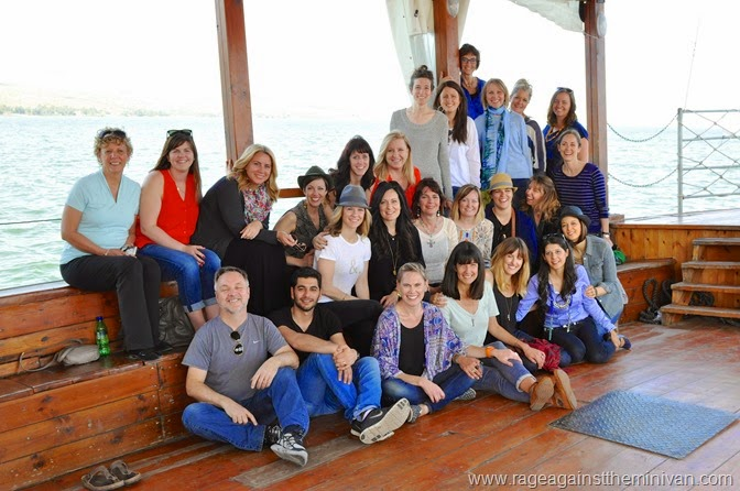 March 7, Beatitudes, D. Katanacho, Capernaum, Galilee-0539