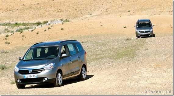 Dacia Lodgy testdagen 17