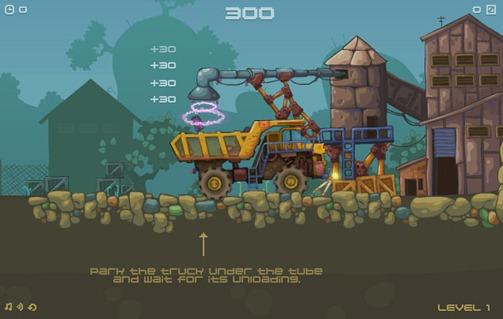 Juegos de Camiones Mining Truck Flash