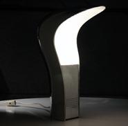 Lamperti - Casati and Ponzio Studio D.A. - Pelota table lamp, mirrored chrome