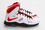 nike lebron 10 gr miami heat home 5 05 Release Reminder: Nike LeBron X MIAMI HEAT Home