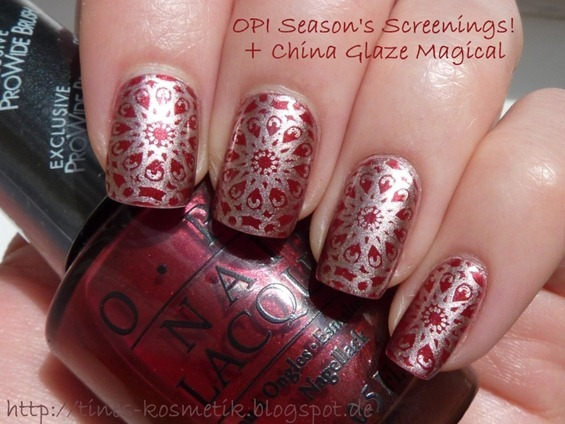 OPI Season's Screenings Stamping 1