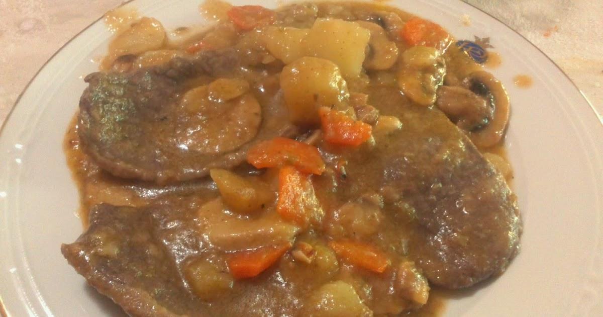 Chocolate vainilla y algo m s filetes de ternera en salsa - Filetes de ternera en salsa de cebolla ...