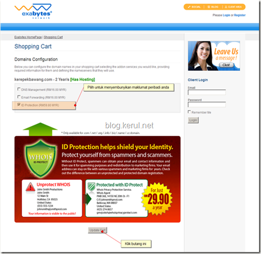 perlindungan keselamatan data peribadi WHOIS