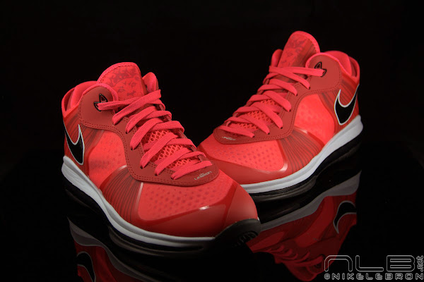 The Showcase Nike Air Max LeBron 8 V2 Low 8220Solar Red8221