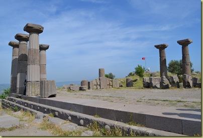 Assos Accropolis View