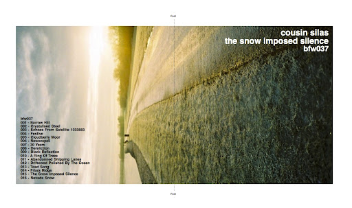Cousin Silas - the snow imposed silence (front / insert)