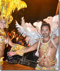 Festejos de Carnaval en Santa Teresita