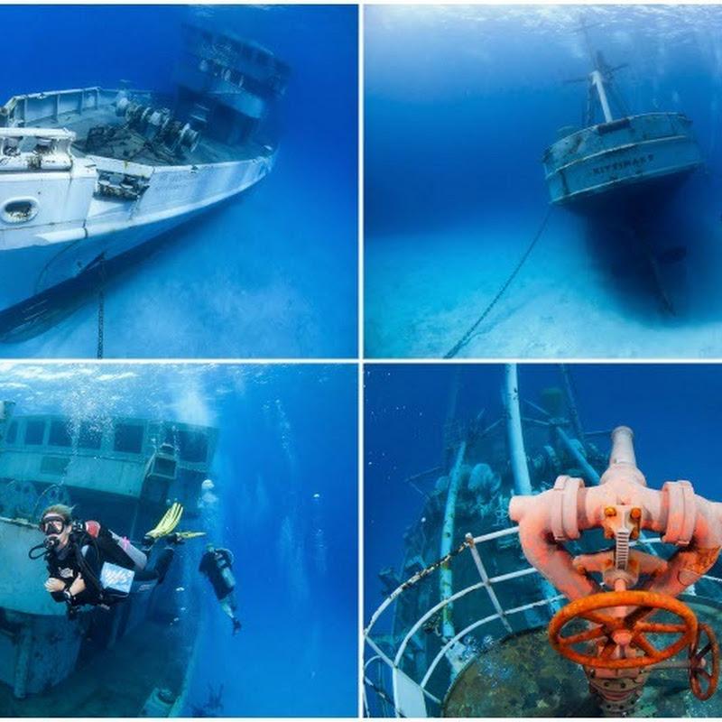 The Shipwrecks of Cayman Islands