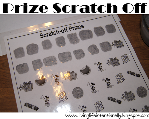 prize scratch off for family road trips