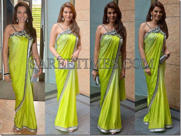 Archana_Kocchar_Green_Bollywood_Saree