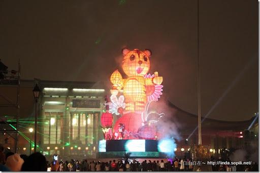 2010台北燈節(台北燈會)-主燈福氣虎Ho Ki