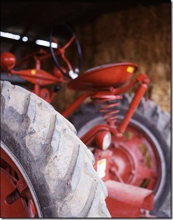 tractor by Alexandra Grablewski