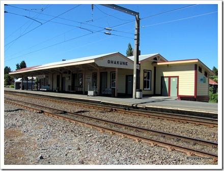 Ohakune railway station.