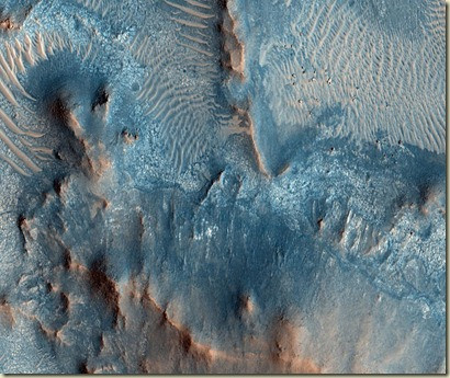 clay minerals on Mars