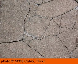 'Cracked Texture 2' photo (c) 2008, Caleb - license: http://creativecommons.org/licenses/by/2.0/