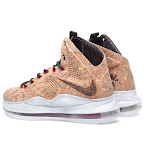 nike lebron 10 gr cork championship 16 03 Updated Nike LeBron X Cork Release Information by Footlocker